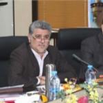 معارفه قائم مقام معاونت هماهنگی امور اقتصادی و توسعه منابع استانداری خوزستان