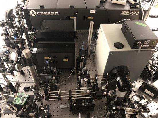 سریعترین دوربین جهان با ۱۰تریلیون عکس در ثانیه
